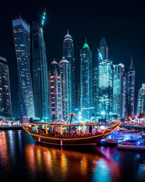 Огни ночных городов в фотографиях Теэму Ярвинена (30 фото)