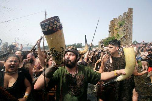 Ежегодный Фестиваль викингов в Катойре (14 фото)