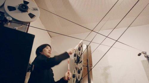 Электромагнитная барабанная установка из ленты бобинных катушек