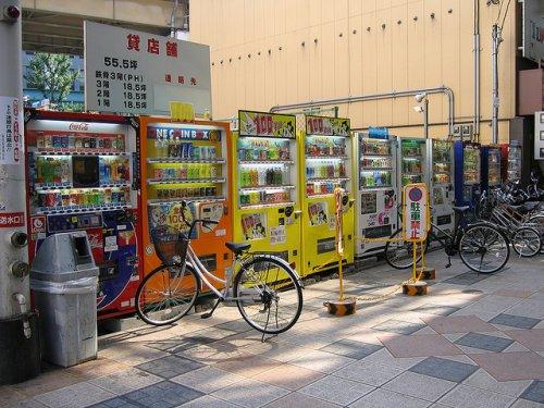 Япония – мир торговых автоматов (38 фото)