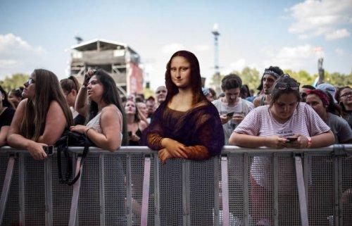 Герои классических полотен на музыкальном фестивале Sziget Festival (8 фото)