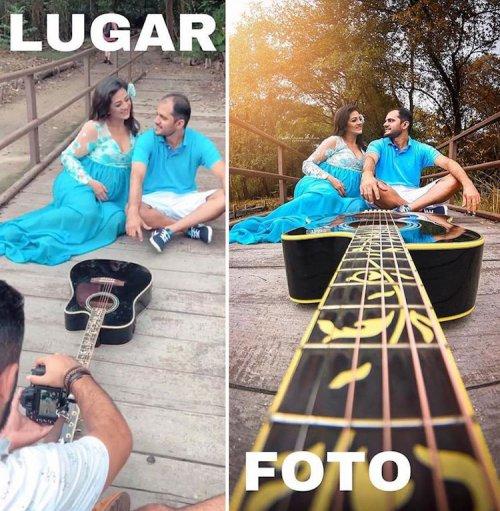 Гилмар Сильва продолжает раскрывать всю правду о профессиональных снимках (14 фото)