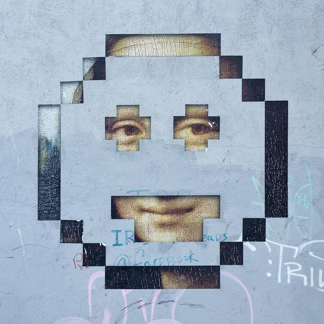 Новый стрит-арт от московского художника Zoom (27 фото)