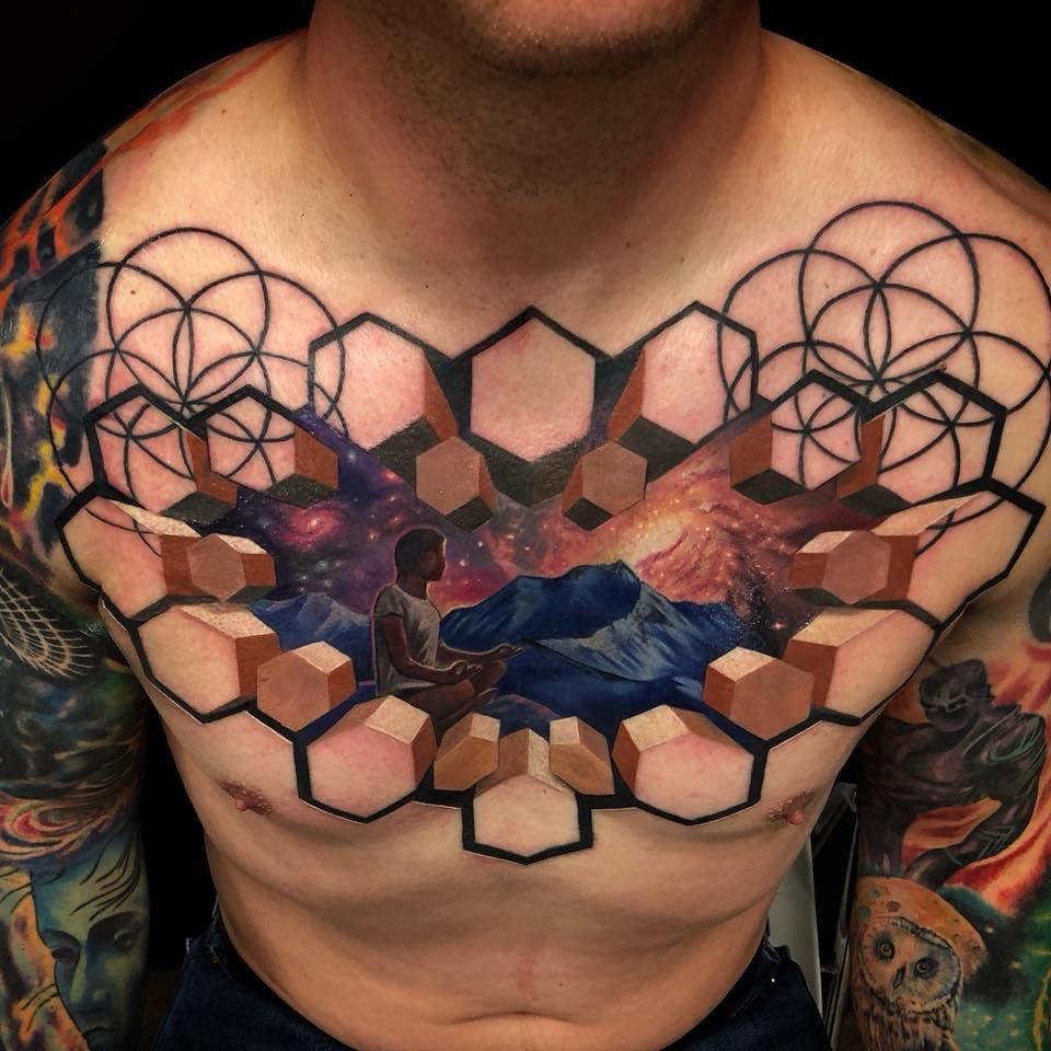 фотографии триде татуировок куры имеют