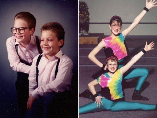 Смешные и нелепые семейные фотографии (20 шт)