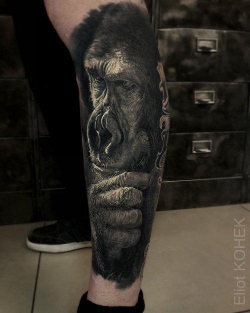 Новые реалистичные татуировки Элиота Коека (12 фото)