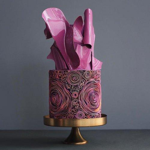 Элегантные торты от кондитерской Tortik Annushka (29 фото)