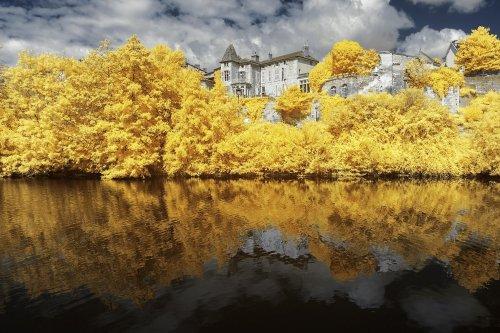 По-настоящему осенние инфракрасные фотографии Пьера-Луи Феррера (8 фото)