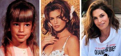 Как менялись со временем женщины-знаменитости (22 фото)
