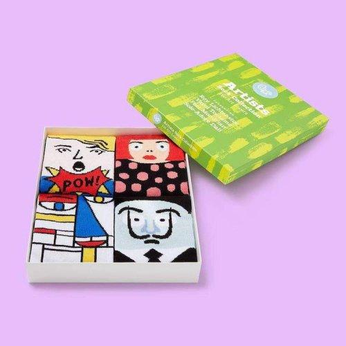 Носки для тех, кто хочет почувствовать себя творческой личностью с головы до ног (7 фото)