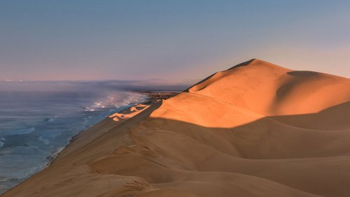 Фото: Вдоль берега Намибии (24 фото)