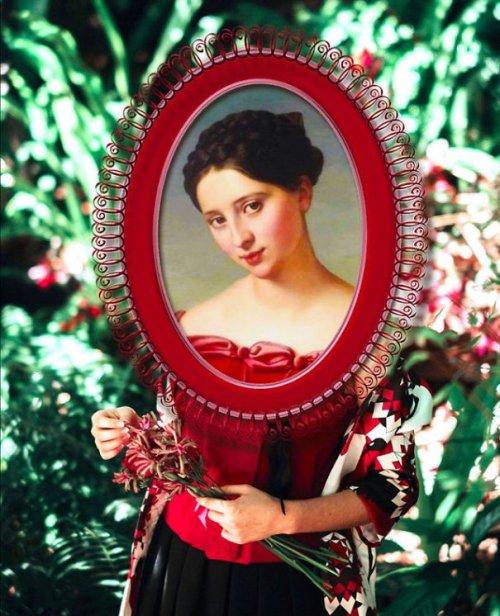 Art Frame Design: проект, в котором женские персонажи классического искусства представлены в современном мире (13 фото)