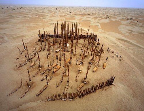 История уникального кладбища мумий Сяохэ, которому уже почти 4000 лет (4 фото)