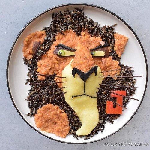 Креативные завтраки для сына (17 фото)
