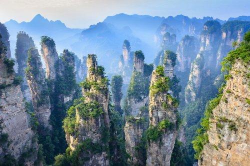 Гора Аватар-Аллилуйя существует на самом деле, и найти ее можно в Китае (7 фото)