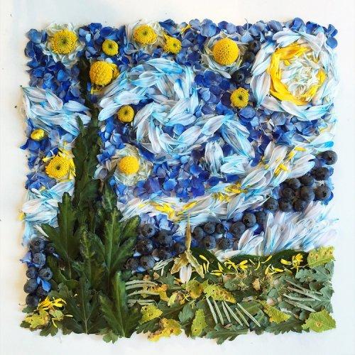 Красочные цветочные иллюстрации Бриджет Бет Коллинз (23 фото)