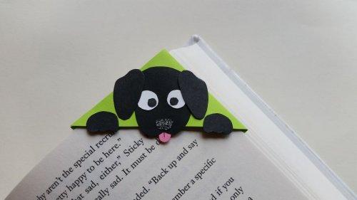 Угловые закладки в виде животных от PaperPalCreations (8 фото)