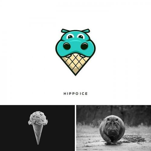 Графический дизайнер создаёт креативные логотипы, сочетая различные элементы (25 фото)