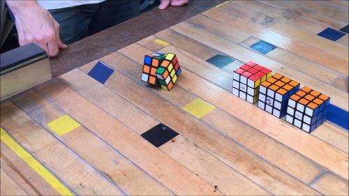 Автоматический кубик Рубика, который сам себя собирает (8 фото + 2 видео)
