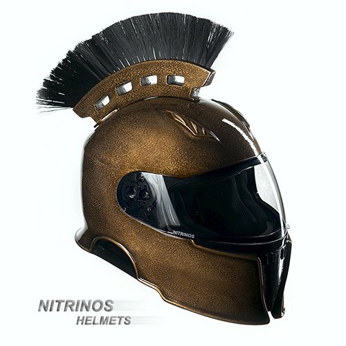 Оригинальные мотоциклетные шлемы от Nitrinos (29 фото)