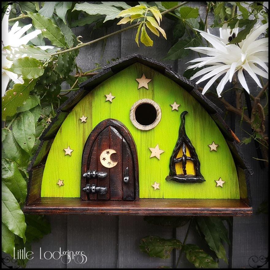 Сказочные скворечники, которые станут украшением в любом саду (12 фото