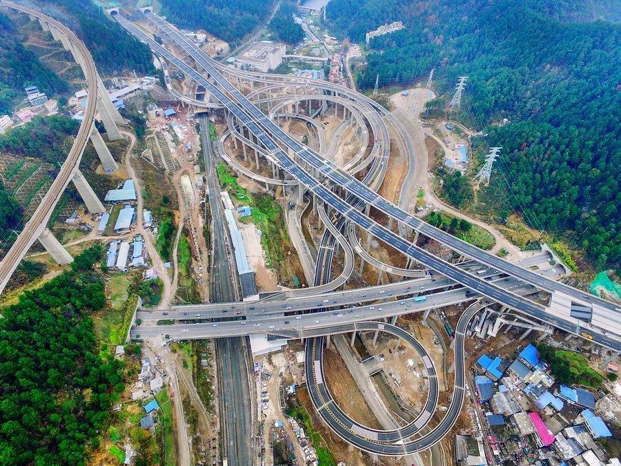 многоуровневые развязки в китае фото вельможные мещане