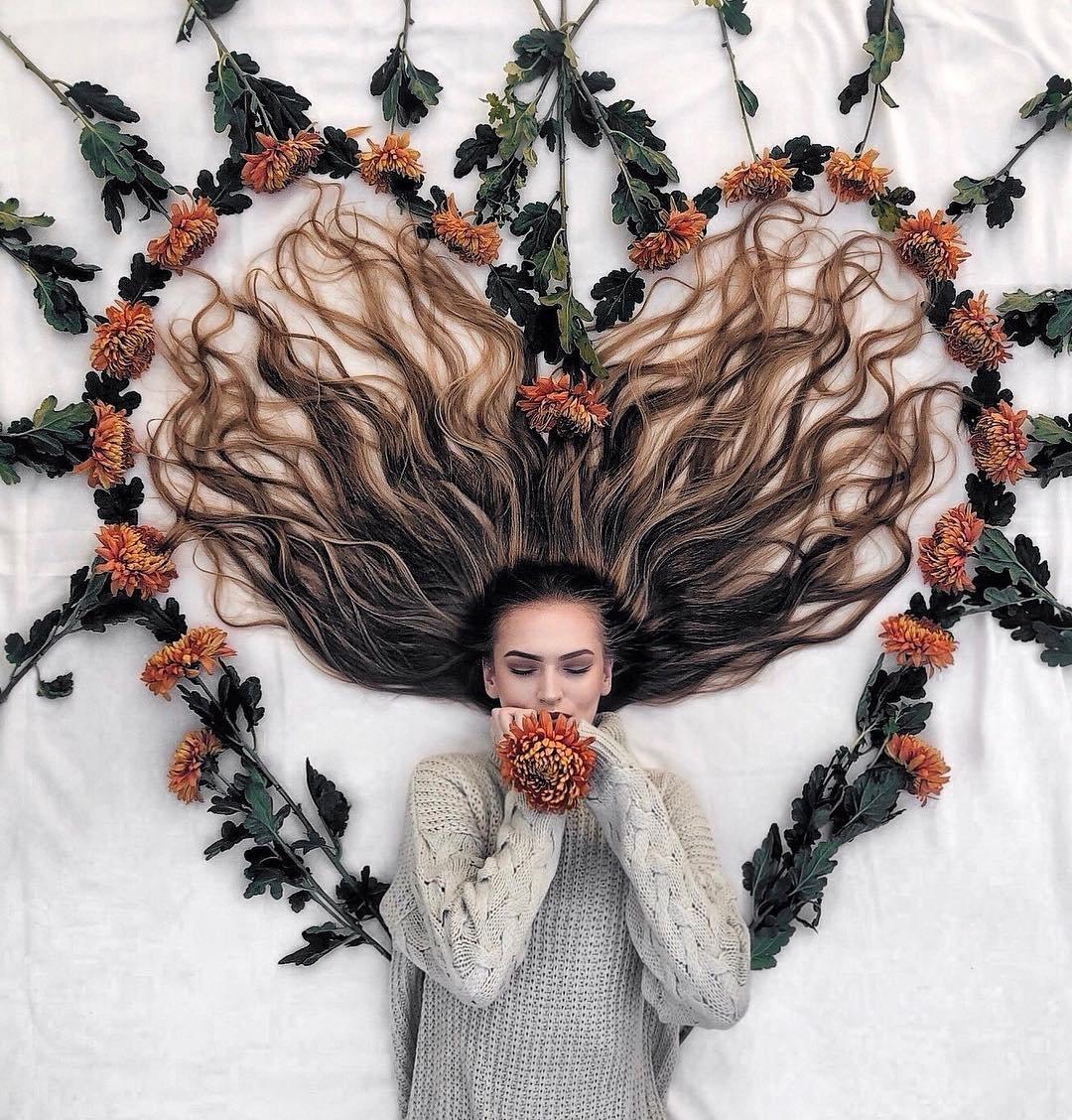 картинки волосы креатив маска часть