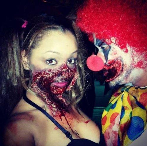 Настоящие хэллоуинские костюмы, которые напугают кого угодно (21 фото)