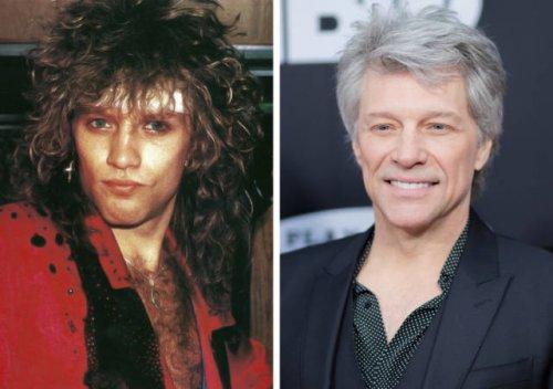 Рок-звёзды до и после прихода всемирной славы (19 фото)