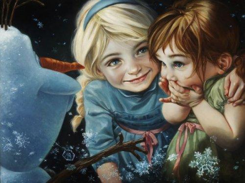 Художница изобразила диснеевских принцесс и других персонажей в стиле эпохи раннего Возрождения (12 фото)