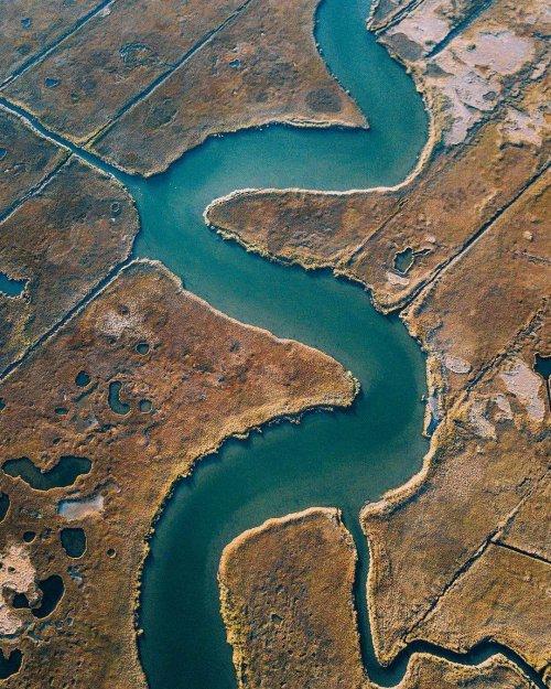 Захватывающие дрон-фотографии Мартина Санчеса, которые должен увидеть каждый (32 фото)