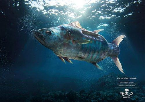 """""""Вы едите то, что едят они"""": новая потрясающая печатная реклама от Ogilvy (3 фото)"""
