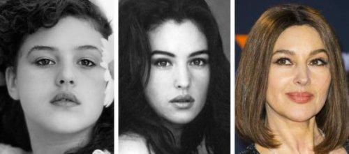 Как знаменитые красавицы из обычных девочек превращались в эталоны женской красоты (15 фото)