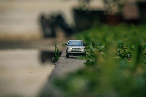 Миниатюрный мир моделей автомобилей Рохита Састри (6 фото)