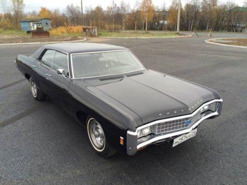 Отреставрированный автомобиль Chevrolet Impala 1969 года выпуска (23 фото)