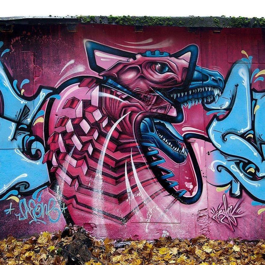 из картинка превратить в граффити потому что