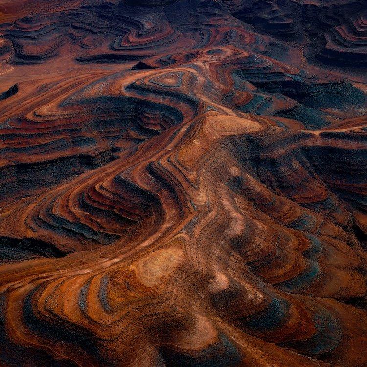 Потрясающие аэрофотоснимки пустынного ландшафта Намибии, которые похож