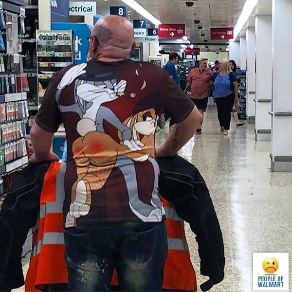 Чудаки и чудачества в Walmart (33 фото)