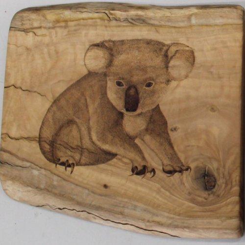 Пирографические портреты животных Тамары Бирнс (8 фото)