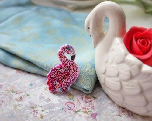 Российская художница LiskaFlower создаёт красочные украшения из полимерной глины (14 фото)
