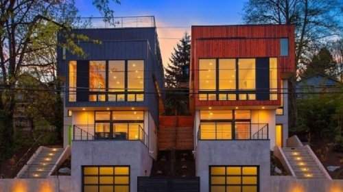 Даже из грузовых контейнеров можно построить стильный дом, и эти фотографии — наглядное тому доказательство! (21 фото)