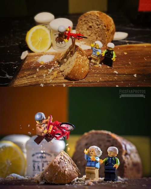 Миниатюрная вселенная LEGO: ЛЕГОграфии Бенедека Ламперта (20 фото)