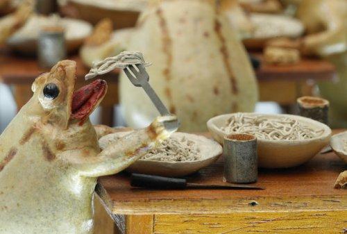 Необычный Музей лягушки в Швейцарии с неожиданными экспонатами (10 фото)