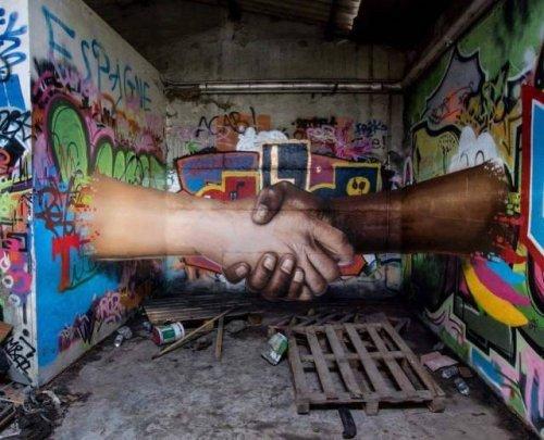 Потрясающий стрит-арт, который мы не могли вам не показать (26 фото)