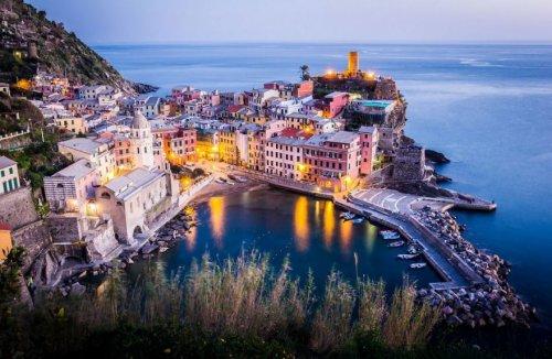 Манарола: красочный уголок Италии (8 фото)