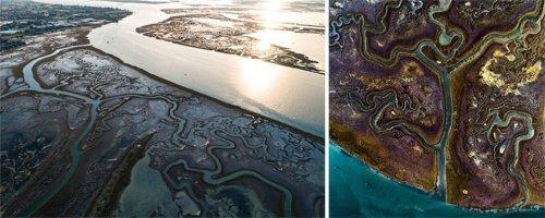 Фотограф показал, как сильно отличаются дрон-фотографии от аэрофотоснимков на примере серии сравнительных снимков (20 фото)