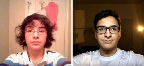 8-летнее преображение из подростка в молодого мужчину за несколько минут: парень каждый день в течение 8 лет делал селфи и объединил их в одном видео