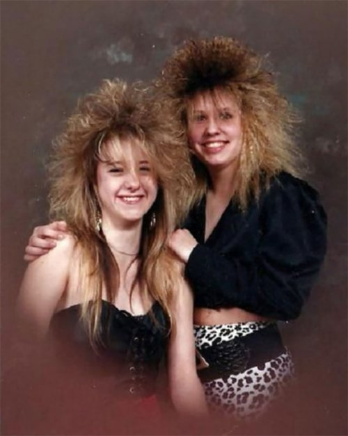 Модные причёски 1980-х, крутость которых просто зашкаливает (28 фото)