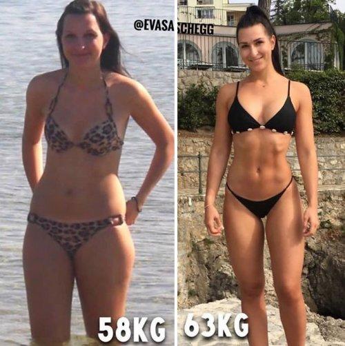 15 фотографий, которые наглядно доказывают, что во время похудения вес не имеет значения