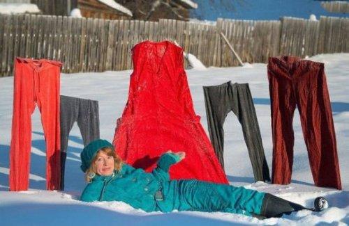 Красноречивые признаки зимы (28 фото)